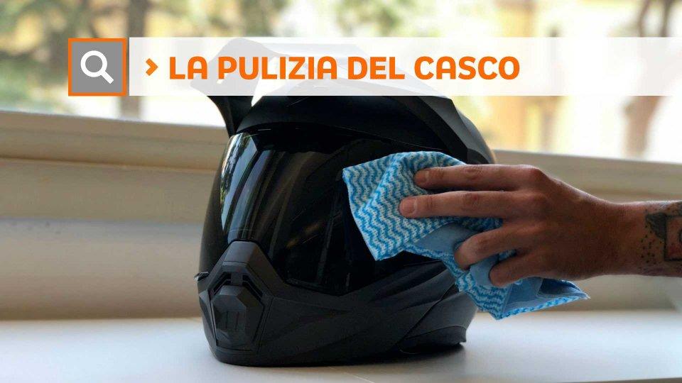 Moto - News: Tutorial: come si pulisce il casco della moto