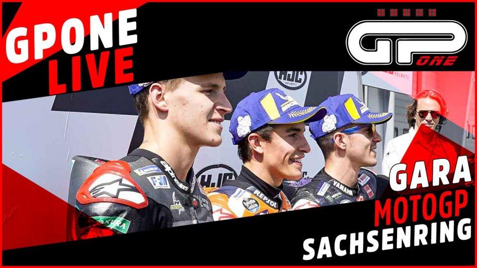 MotoGP: Sachsenring, cronaca diretta LIVE: vittoria di Marquez su Vinales