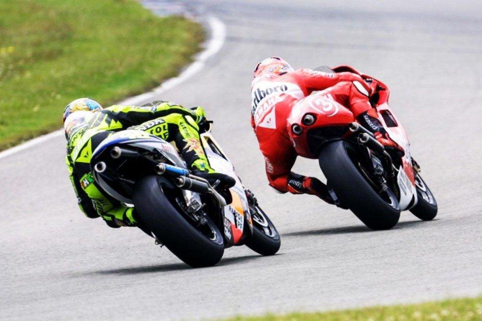 MotoGP: Brno: Rossi sfida Marquez e anche Biaggi