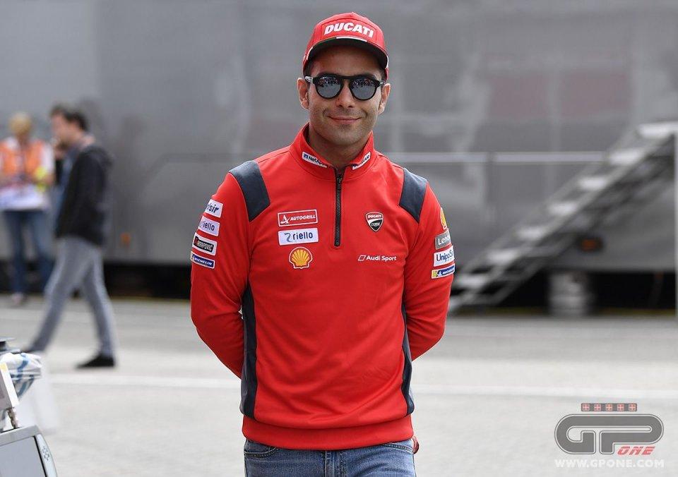 """MotoGP: Petrucci: """"Posso vincere, ma non voglio togliere punti a Dovi"""""""