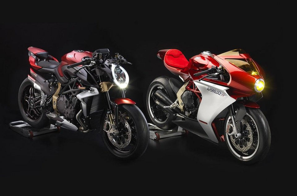 Moto - News: MV Agusta: la Brutale e la Superveloce Serie Oro vanno a ruba