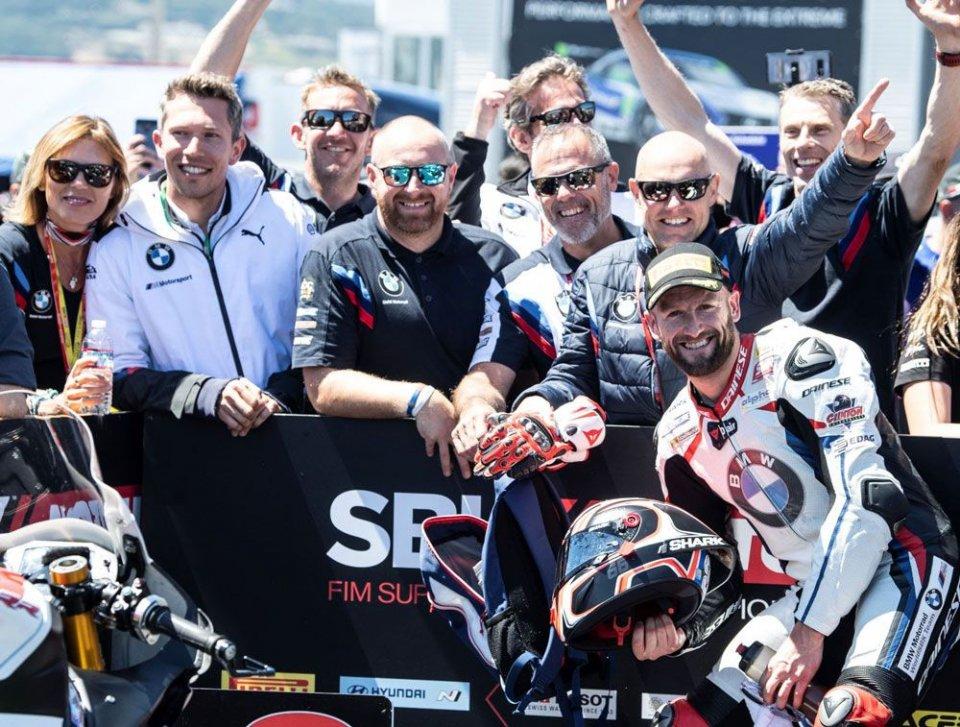 "SBK: Sykes: ""La Kawasaki era vincente, la BMW molto promettente"""