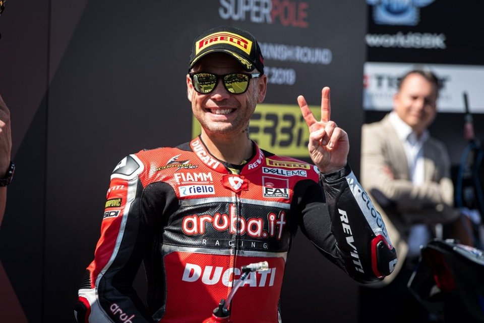 """SBK: Bautista to Rossi: """"Vale, I'll wait for you in Superbike"""""""