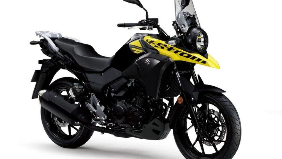 Moto - News: Suzuki V-Strom 250, finanziamento a tasso zero fino al 30 settembre
