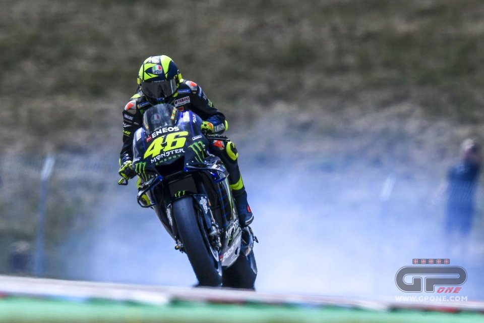 """MotoGP: Rossi: """"The engine breakdown isn't a problem, it was old"""""""