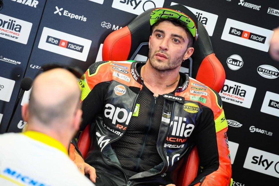 """MotoGP: Andrea Iannone: """"Voglio tornare in alto, con o senza Aprilia"""""""