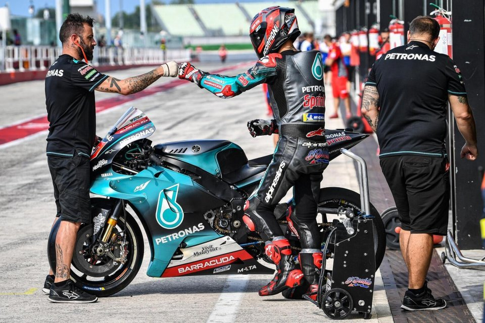 """MotoGP: Quartararo, from hell to heaven: """"I'm fine and I'm already going fast."""""""