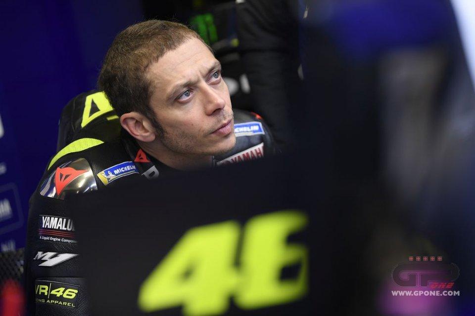 """MotoGP: Rossi: """"Adoro Silverstone e piace anche alla Yamaha"""""""