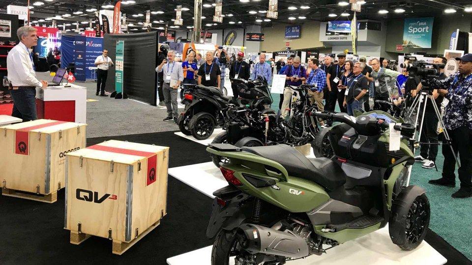 Moto - News: Quadro Vehicles, ora il Qooder sbarca sul mercato americano