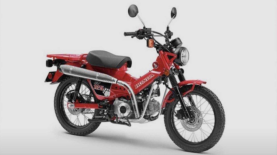 Moto - News: Honda CT125, il concept che ricorda il Trial Cub
