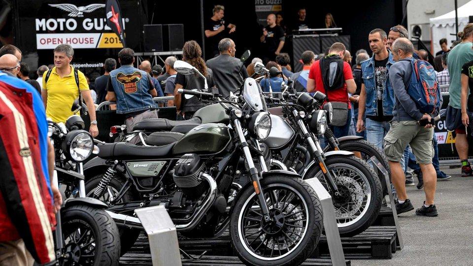 Moto - News: Moto Guzzi Open House 2019: 30mila appassionati a Mandello del Lario
