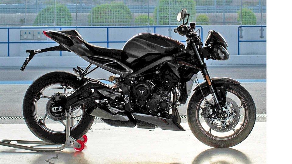 Moto - News: Triumph Street Triple RS 2020, nuovi indizi