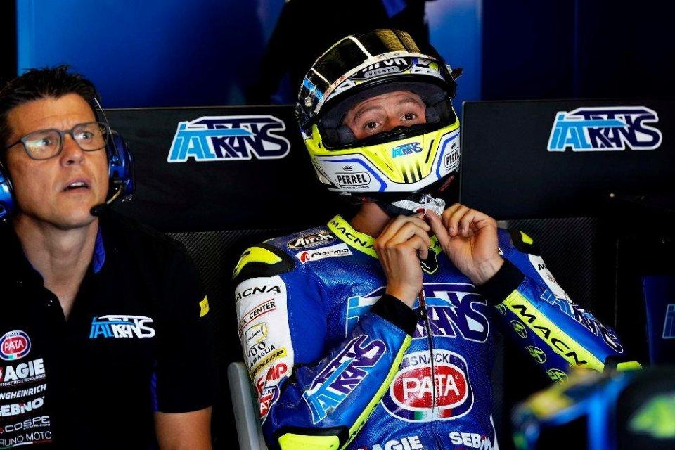 Moto2: Andrea Locatelli destinato alla SuperSport con Evan Bros
