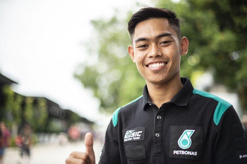 Moto2: A Misano ci sarà Norrodin sulla Kalex del team Petronas