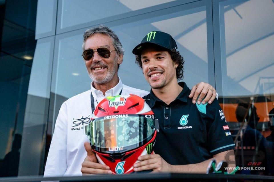 MotoGP: Morbidelli races with Rolando for cancer
