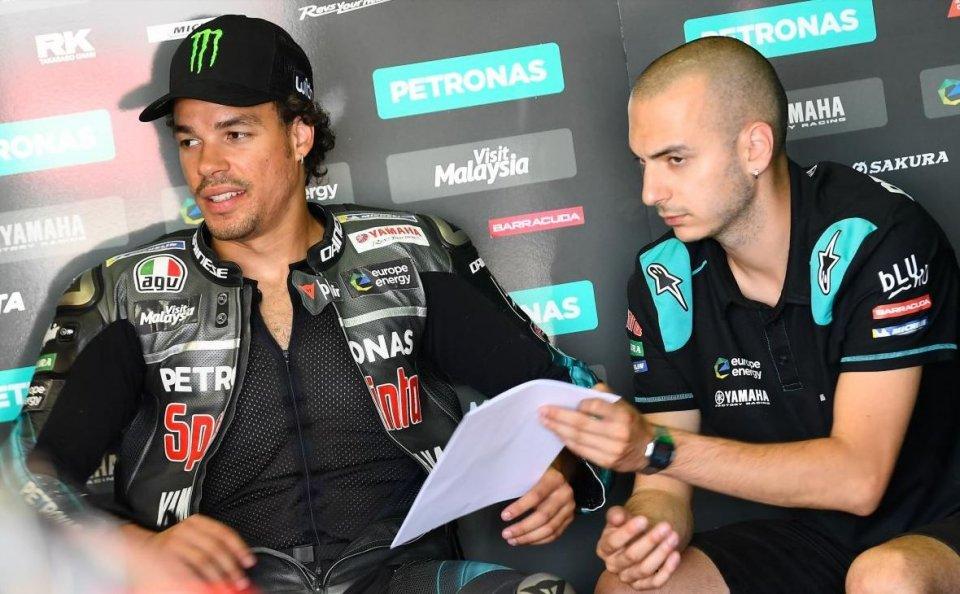 """MotoGP: Morbidelli: """"Sono andato piano: non ho fiducia in curva con la Yamaha"""""""