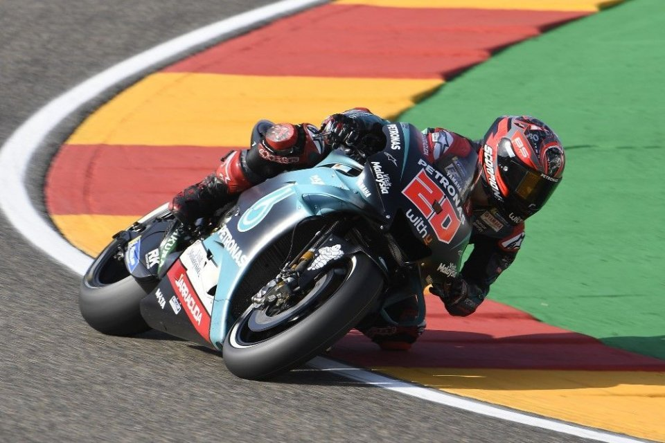 """MotoGP: Quartararo: """"Miller's my rival. We're friends, but I have to beat him."""""""