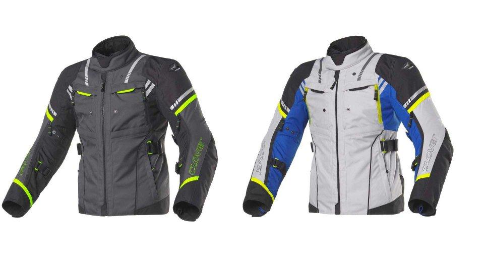 Moto - News: Clover Hyperblade, la giacca Sport-Touring impermeabile