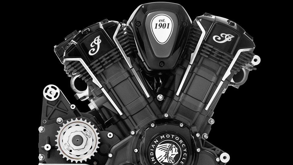 Moto - News: Indian Powerplus, il super-V2 da 1.769 cc