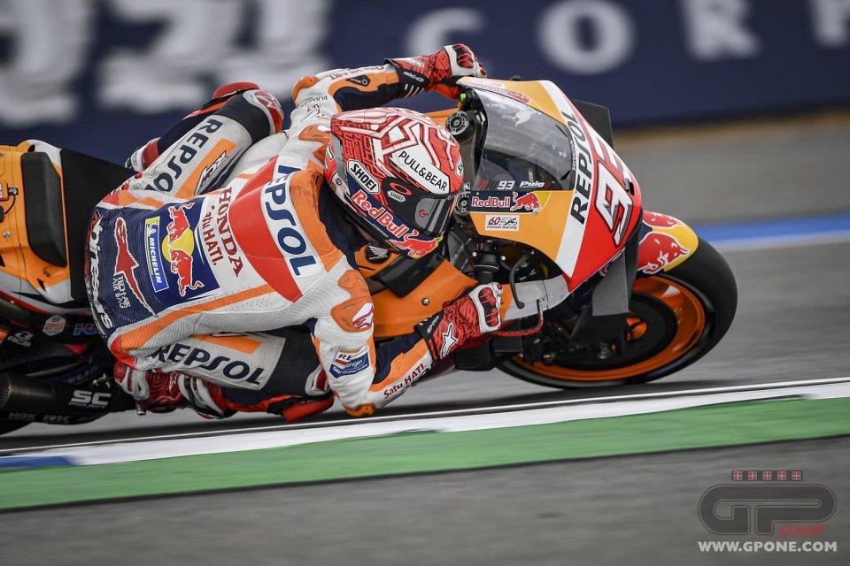 MotoGP: Warm Up Buriram, Marquez mette in riga le Yamaha, Rossi 4°