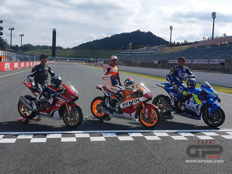 MotoGP: A Motegi Takuma Aoki ritorna in sella con i suoi fratelli