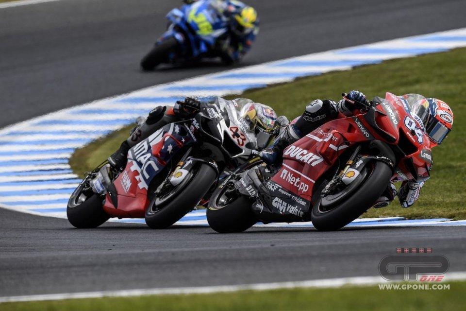 """MotoGP: Dovizioso: """"Se mi confronto con Marquez non posso essere contento"""""""