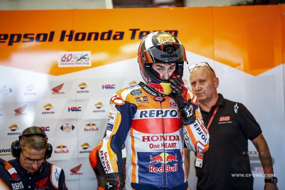 "MotoGP: Lorenzo: ""Honda fa bene a seguire Marquez, devo adeguarmi"""