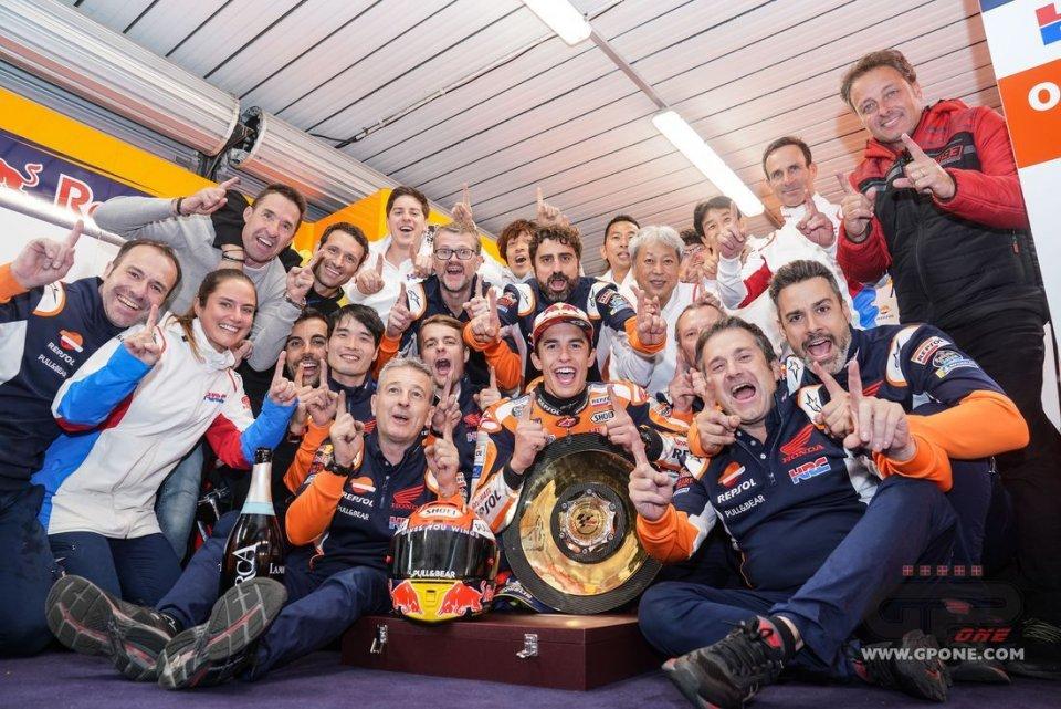 MotoGP: Marc Marquez mette nel mirino Valentino Rossi e Giacomo Agostini