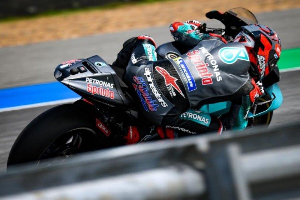 MotoGP: FP2: Quasi una pole, Quartararo e Vinales davanti a Marquez