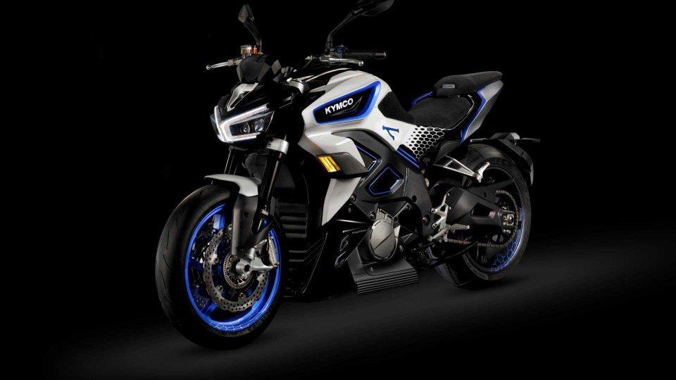 Moto - News: Kymco Revonex, la naked elettrica in produzione dal 2021