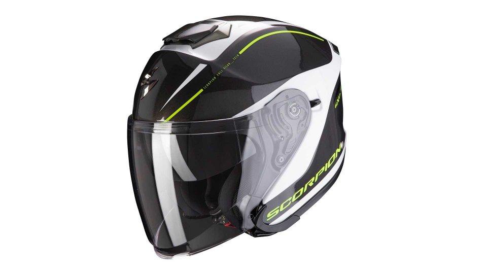 Moto - News: Scorpion Exo S1, il casco jet protettivo e confortevole