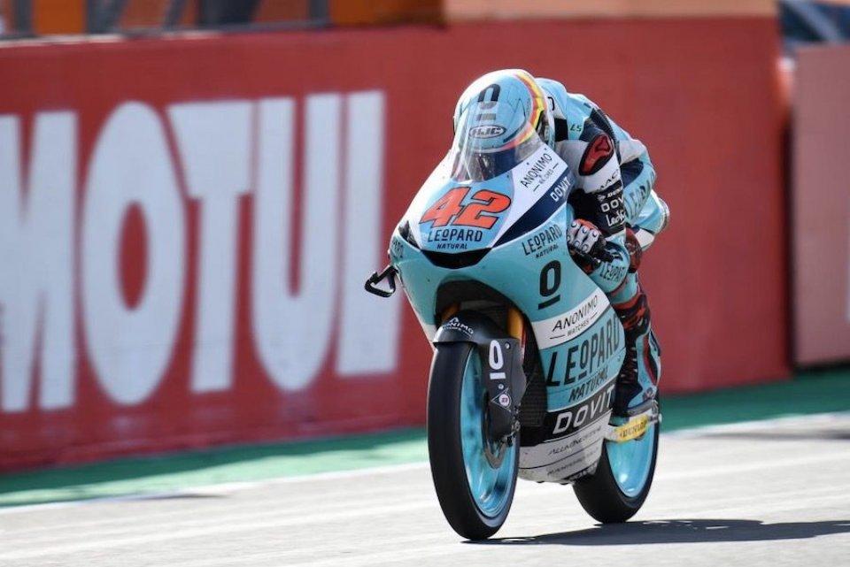 Moto3: FP3: Leopard in fuga a Valencia: 1° Ramirez, 2° Dalla Porta