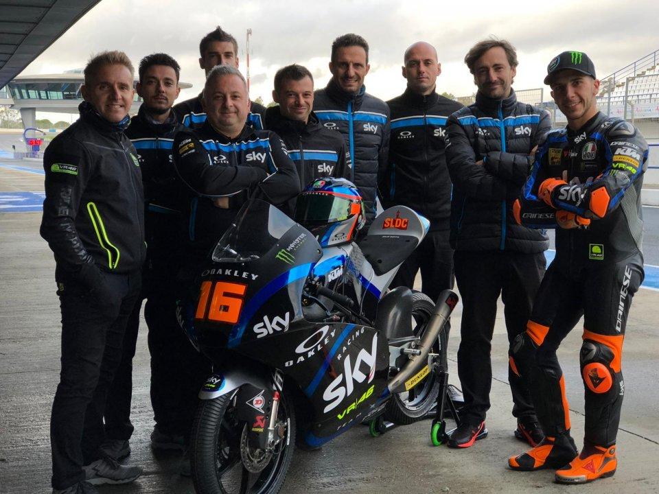 Moto3: Migno torna in casa Sky ed 1° nei test di Jerez