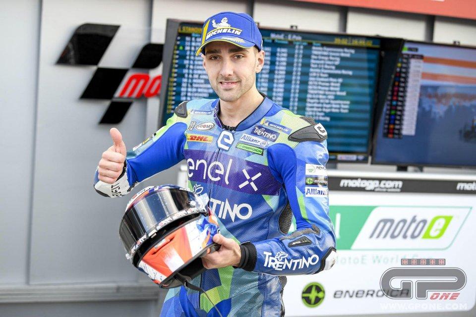 MotoE: Matteo Ferrari è il primo campione elettrico a Valencia