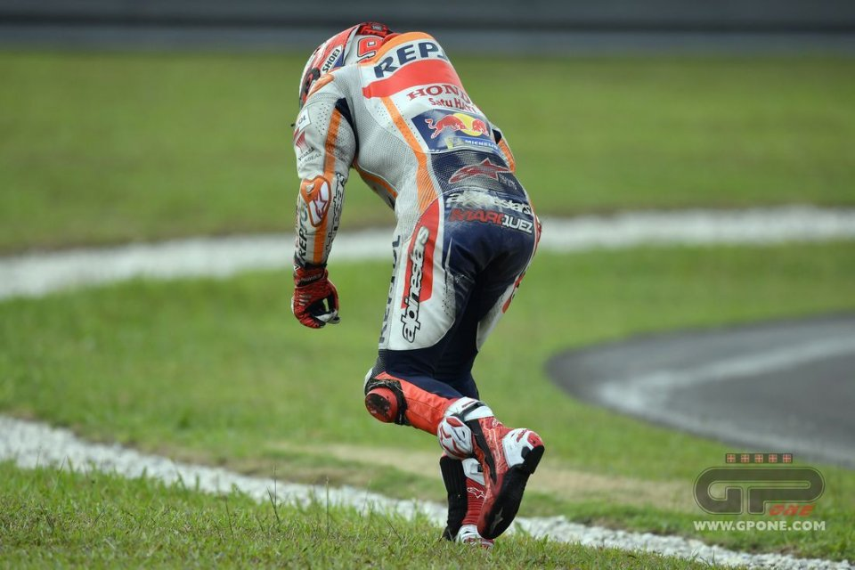 MotoGP: How Alpinestars protected Marquez: 26.27 g and still wearing it well