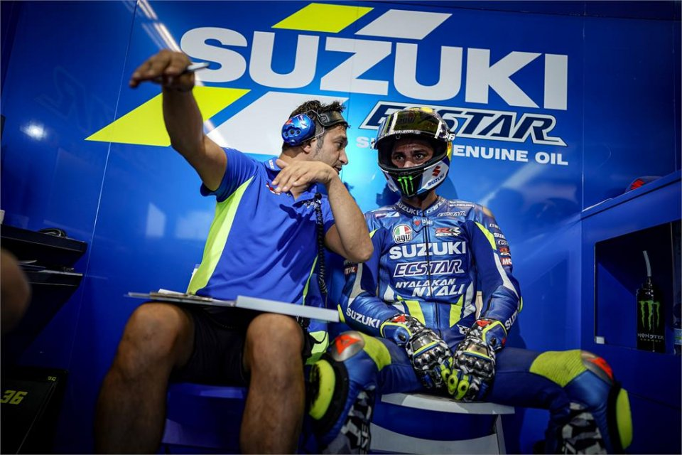 """MotoGP: Mir: """"Il nuovo motore? La potenza non è il suo punto di forza"""""""
