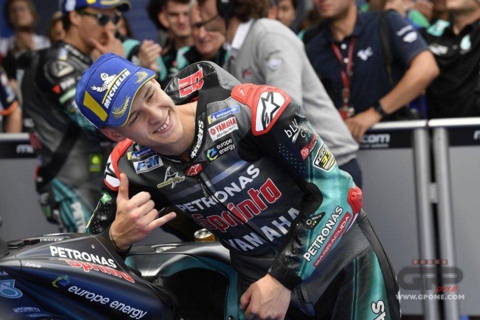 MotoGP: Quartararo chiude per KO il match con Marquez in qualifica a Sepang