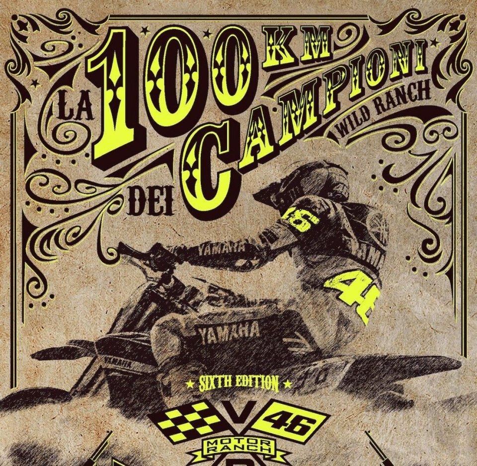 MotoGP: Scatta al Ranch di Valentino Rossi la 100 Km dei campioni più numerosa