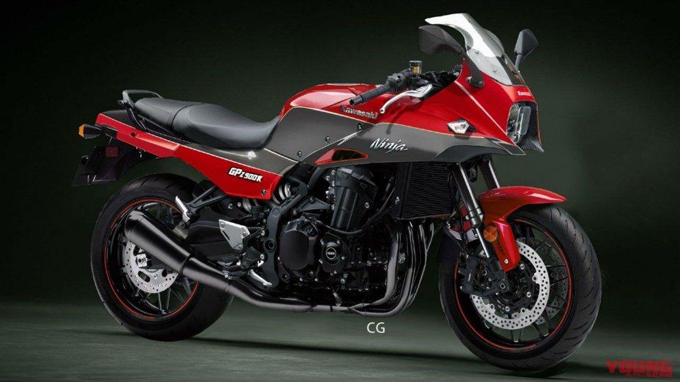 Moto - News: Kawasaki, indizi sulla (possibile) nuova GPZ900R [VIDEO]