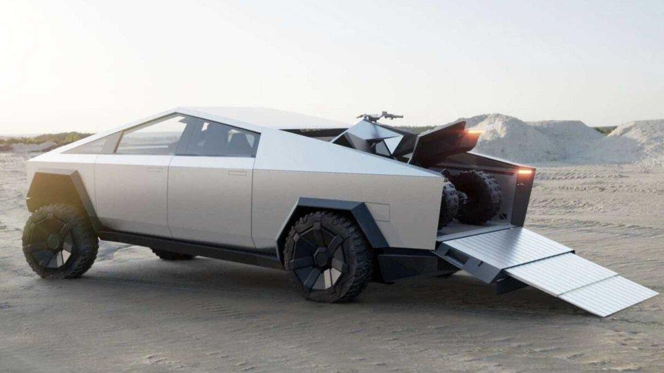 Moto - News: Tesla, dopo il Cybertruck (forse) ci sarà spazio per una moto elettrica