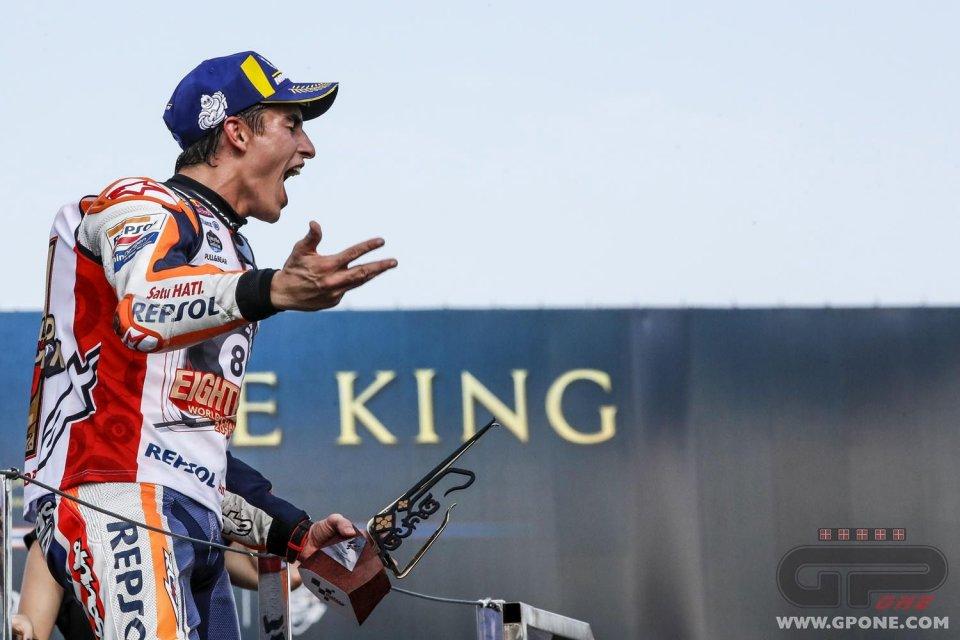 """MotoGP: Marquez: Mai tolto un titolo a Rossi. """"Le sue parole sono una reazione"""""""