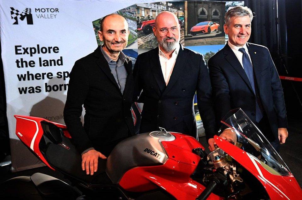 Moto - News: Claudio Domenicali a capo della Motor Valley