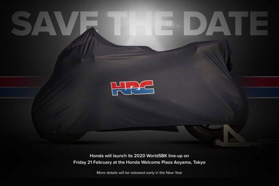 SBK: La Honda di Bautista e Haslam si svela il 21 febbraio a Tokyo