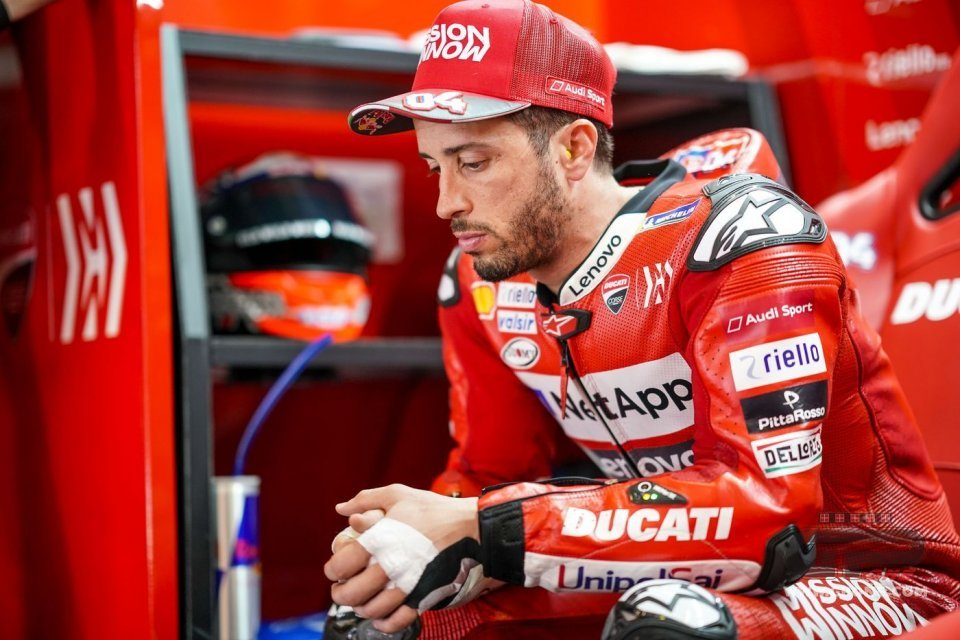"Andrea Dovizioso, the sad Ducatista: ""Marquez unbeatable with the GP19"""