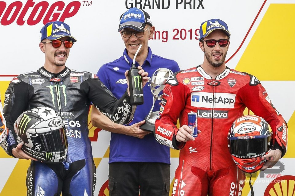 Vinales' victory and Dovi's podium complicates Ducati's plans