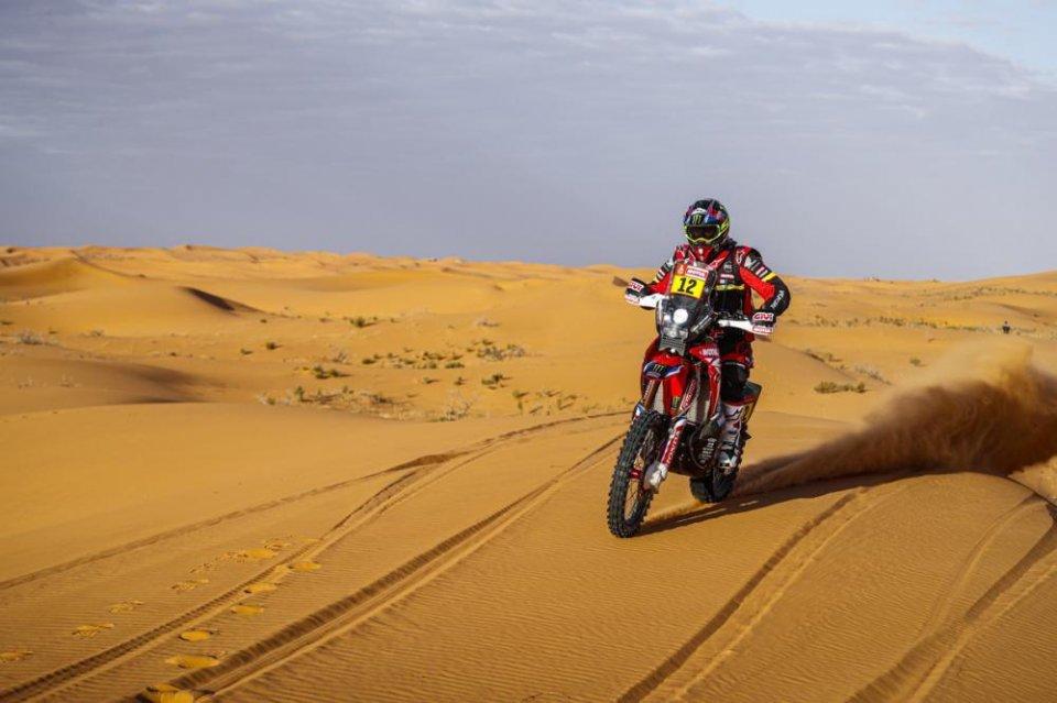 Dakar: TAPPA 10 - Barreda e la Honda più forti del vento, 9° Gerini