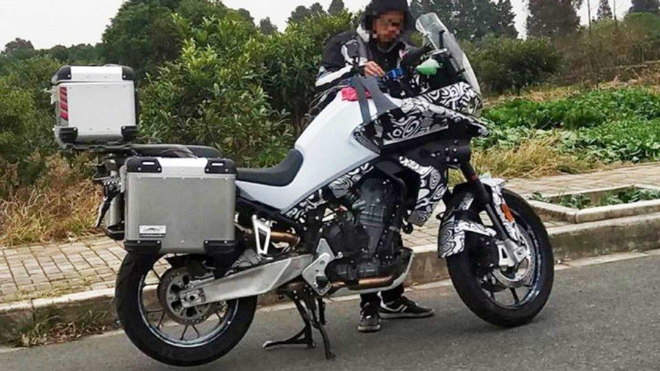 Moto - News: KTM e CFMoto, (in Cina) arriva una crossover da 800 cc