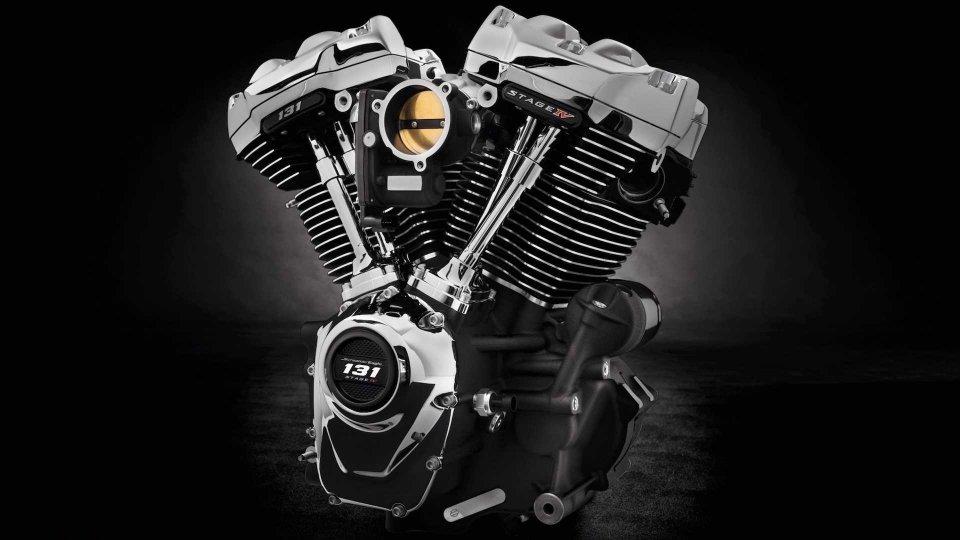 """Moto - News: Harley-Davidson Milwaukee Eight 131: 2.147 cc e una coppia """"da record"""""""