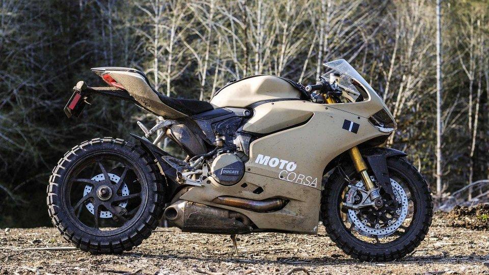 Moto - News: TerraCorsa, la Ducati 1199 Panigale pronta per l'off-road [VIDEO]