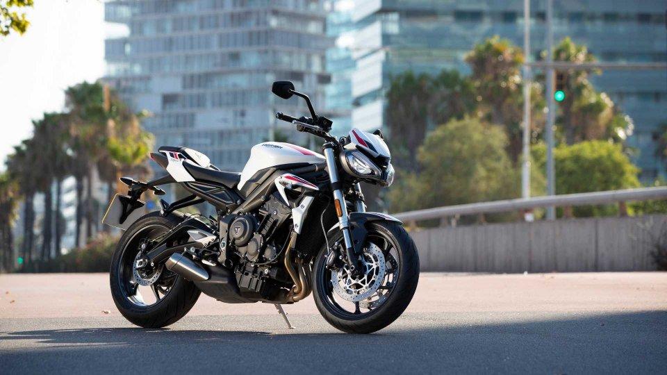 Moto - News: Triumph Street Triple S 2020, la roadster per tutti
